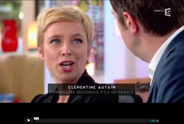 Clémentine Autain répond à Valls
