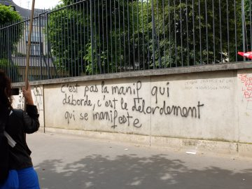 Sur la manifestation du 14 juin à Paris. Et du sang.