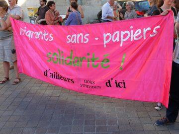 Rassemblement d'Ailleurs Nous Sommes d'Ici le 5 avril à Poitiers