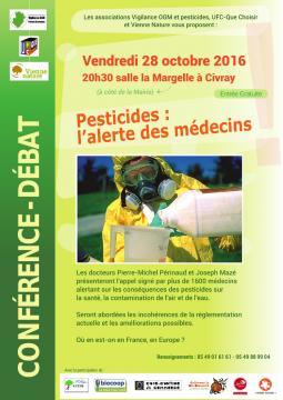 conférence débat sur les pesticides à Civray @ salle de la margelle | Civray | Aquitaine-Limousin-Poitou-Charentes | France
