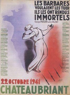 Commémoration du 75e anniversaire des exécutions de Châteaubriant