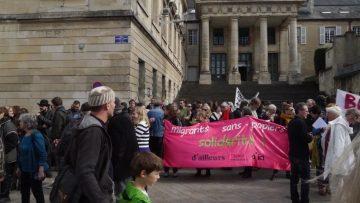 Solidarité avec Calais et les migrantEs : contre la destruction du bidonville