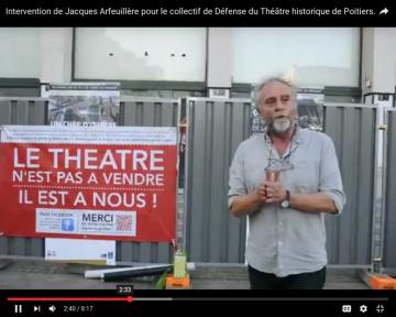 Rebondissements dans l'affaire du Théâtre de Poitiers