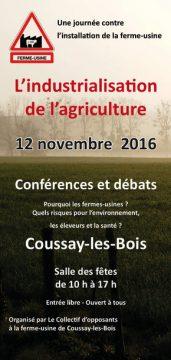 L'industrialisation de l'agriculture, à partir de l'exemple de Coussay-les-Bois