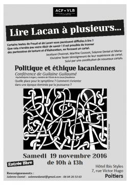 Lire Lacan à plusieurs @ Hôtel Ibis Style   Poitiers   Aquitaine-Limousin-Poitou-Charentes   France