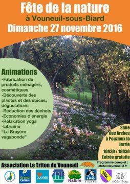 Fête de la nature à Vouneuil-sous-Biard @ Salle des Arches   Vouneuil-sous-Biard   Aquitaine-Limousin-Poitou-Charentes   France