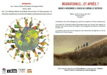 Courts-métrages / Migration(s)... @ cinéma Le Dietrich | Poitiers | Aquitaine-Limousin-Poitou-Charentes | France