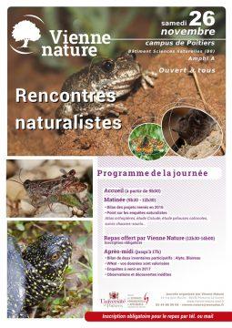 Rencontres naturalistes @ Campus de l'Université de Poitiers