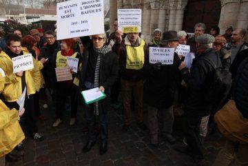 Solidarité Syrie : les photos de Poitiers