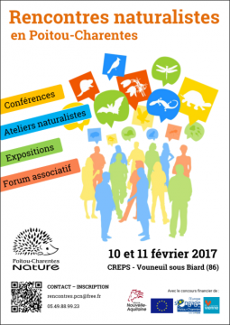 Rencontres naturalistes du Poitou-Charentes @ CREPS  | Vouneuil-sous-Biard | Nouvelle-Aquitaine | France