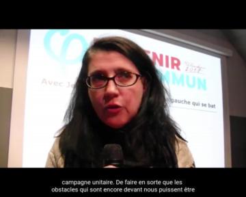 Questions à Myriam Martin, porte parole d'Ensemble!