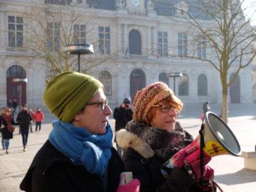 """Videos et photos de la manifestation """"Women' march"""" à Poitiers"""