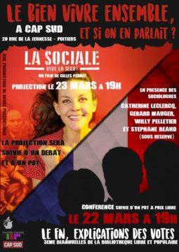 Le FN, explications de vote @ Cap Sud | Poitiers | Nouvelle-Aquitaine | France