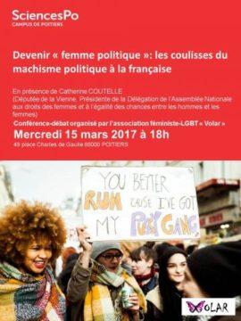 Devenir « femme politique »: les coulisses du machisme politique à la française @ SciencesPo | Poitiers | Nouvelle-Aquitaine | France