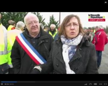Longue vidéo NR sur la mobilisations contre la ferme usine de Coussay-les-Bois