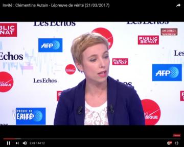 Clémentine Autain - L'épreuve de vérité