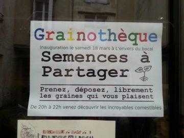 Grainothèque à Poitiers @ L'envers du bocal | Poitiers | Nouvelle-Aquitaine | France