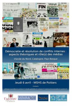 Irlande du nord, Catalogne, Pays basque... à Poitiers @ Maison des Sciences de l'Homme et de la Société (MSHS) | Poitiers | Nouvelle-Aquitaine | France