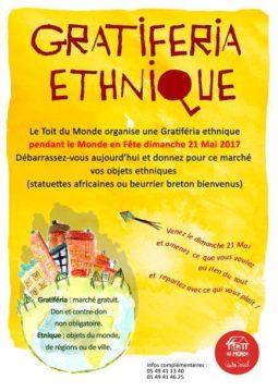 Gratiferia éthique à Poitiers @ Le Monde en fête | Poitiers | Nouvelle-Aquitaine | France