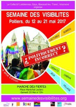 Semaine des visibilités à Poitiers du 12 au 21 mai 2017 @ Poitiers | Nouvelle-Aquitaine | France