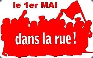 1er mai à Poitiers, demain. Un appel syndical. Puis un appel politique