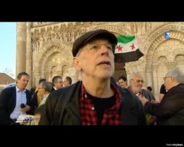 Rassemblement de soutien au peuple syrien à Poitiers