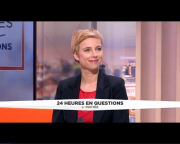 Une porte-parole d'Ensemble!, Clémentine Autain,  dimanche soir sur BFMTV