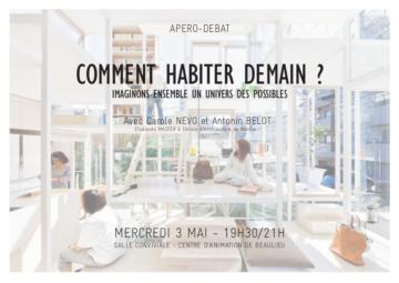 Comment habiter demain ? apéro-débat à Poitiers @ Centre social de Beaulieu   Poitiers   Nouvelle-Aquitaine   France