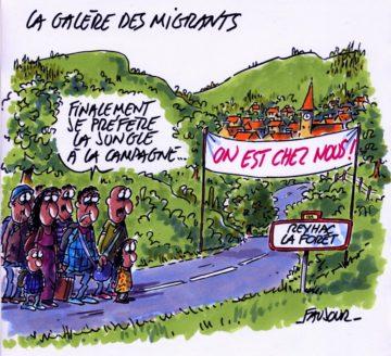 Le soutien aux migrants dans les Alpes maritimes