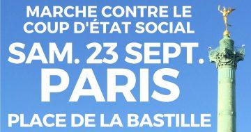 Marche contre le coup d'État social d'Emmanuel Macron @ Place de la Bastille (Paris) | Paris | Île-de-France | France