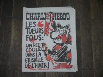 Charlie -Hebdo janvier 2015, quelques articles alors parus dans ReVe86 après le massacre
