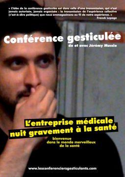 Conférence gesticulée de et avec Jeremy Muccio @ L'envers du Bocal | Poitiers | Nouvelle-Aquitaine | France