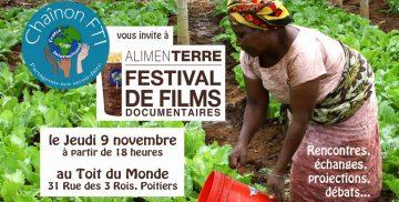 Chaînon FTI vous invite au festival AlimenTerre