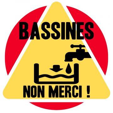 Bassines non merci ! Grande chaîne humaine à Amuré (79) @ Rendez-vous devant la mairie de Amuré | Amuré | Nouvelle-Aquitaine | France