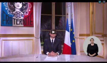 Macron: et de droite et d'extrême-droite. Communiqué d'E!86