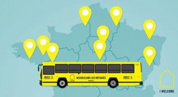 Le bus I Welcome d'Amnesty de passage à Poitiers @ Place du marché Notre-Dame | Poitiers | Nouvelle-Aquitaine | France