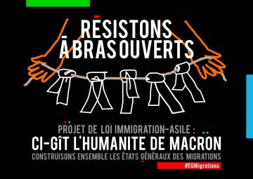 Rassemblement contre le projet de Loi Immigration-Asile @ devant le Palais de Justice | Poitiers | Nouvelle-Aquitaine | France