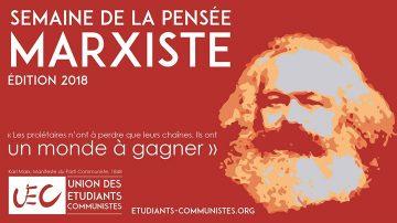 Semaine de la pensée marxiste 2018, les 13, 14 et 15 février à Poitiers