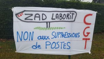 Grève au Centre hospitalier Laborit depuis le 6 mars contre la destruction de ce service public  avec actions multiples