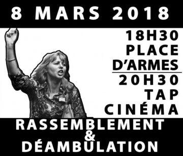 8 mars - Rassemblement, déambulation et film débat @ Place d'Armes puis TAP Cinéma | Poitiers | Nouvelle-Aquitaine | France