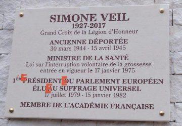 """Communiqué du """"Collectif du 8 mars"""" à propos d'une plaque """"Simone Veil"""""""