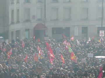 Journée d'action nationale interprofessionnelle - le 19 avril à Poitiers et Châtellerault