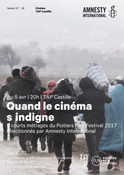Quand le cinéma s'indigne @ TAP Castille | Poitiers | Nouvelle-Aquitaine | France