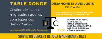 Gestion de la crise migratoire : quelles conséquences dans 20 ans ? @ Salons de Blossac | Poitiers | Nouvelle-Aquitaine | France