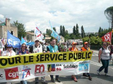 Manifestation des fonctionnaires du 22 mai : des photos