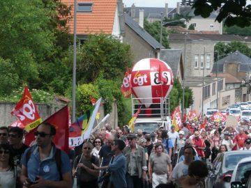 un appel de la CGT des fonderies d'Ingrandes face aux menaces de licenciements