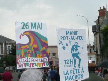 """Le 26 mai , Marée populaire. """"Rassemblons-nous pour l'égalité, la justice sociale et la solidarité"""""""