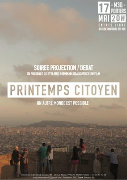 "Projection de ""Printemps Citoyen"" @ Maison des 3 Quartiers 