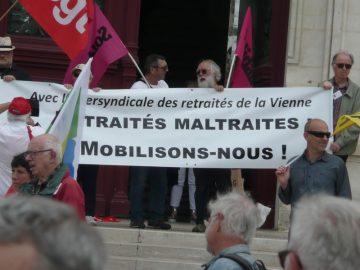 Manifestation des retraités du 14 juin : des photos
