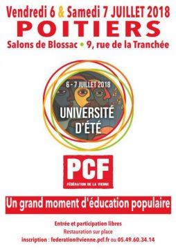 Université d'été du PCF 86 @ Salons de Blossac | Poitiers | Nouvelle-Aquitaine | France